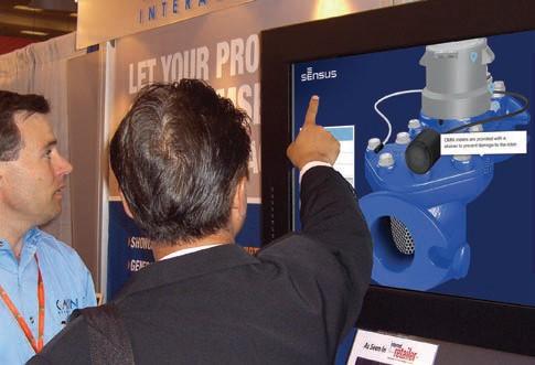 3D visualization in tradeshow